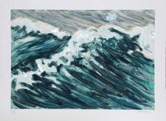 "Richard Bosman, ""Waves,"" Monotype, 1988"