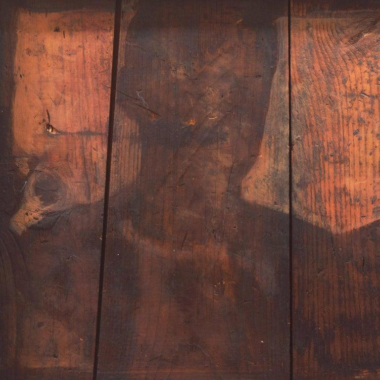 'Shadows', New York, Massachusetts, Pratt Institute, Dartmouth Artist Residency - Brown Figurative Painting by Richard Britell