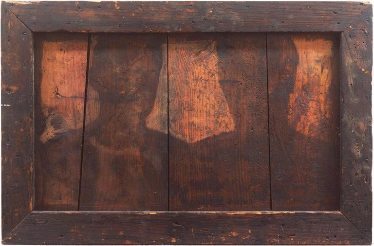 Richard Britell Figurative Painting - 'Shadows', New York, Massachusetts, Pratt Institute, Dartmouth Artist Residency