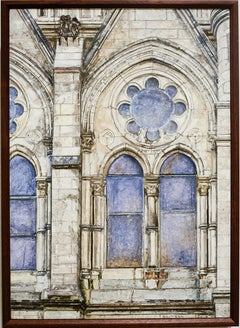St. Marks & St. James and Lafayette by Richard Britell