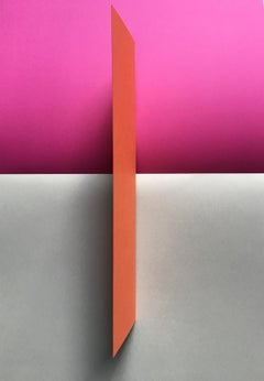 Pink, abstract, red and grey, geometry, #1