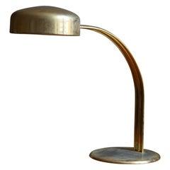 Richard Carruthers, Sizable Table Lamp, Brass, Ateljé Lyktan, Sweden, 1960s