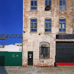Astoria Warehouse, Contemporary Realism, Architecture, Urban Landscape, Queens