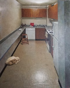 THE KITCHEN, NYC Interior, Tiles, Pattern, Realism, Sink, Rustic