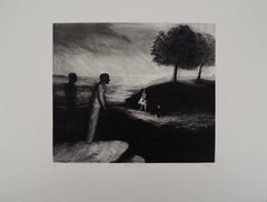 The Belvedere - Original Handsigned Etching - Limited 50 copies