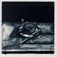 Cup, Saucer, Fork and Knife