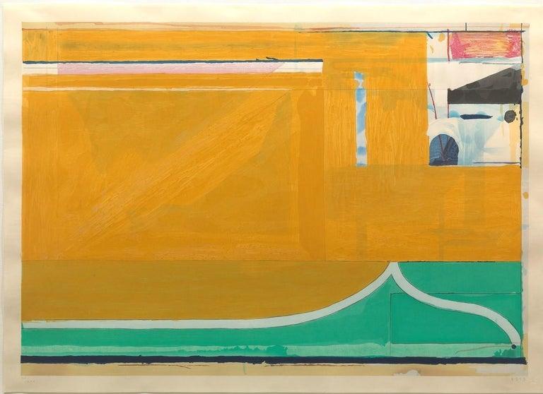 Ochre, Richard Diebenkorn - Print by Richard Diebenkorn
