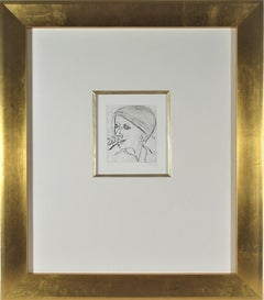"""Phyllis #40"" from the suite ""41 Etchings and Drypoints"""