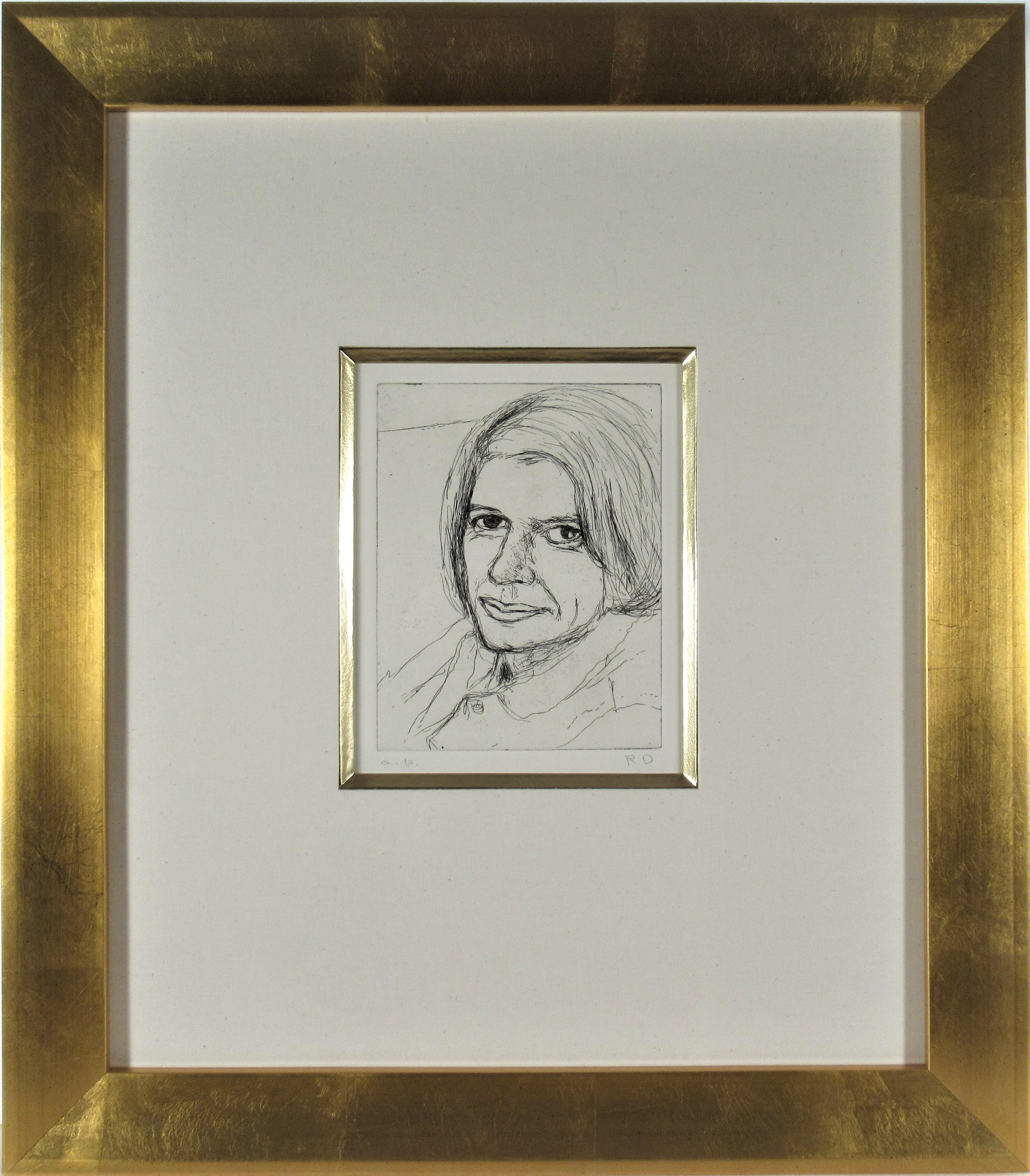 """""""Portrait of Phyllis #22"""" from the suite """"41 Etchings and Drypoints"""""""
