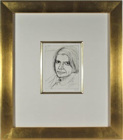 """Portrait of Phyllis #22"" from the suite ""41 Etchings and Drypoints"""