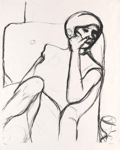 Woman Seated in an Armchair