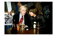 Andy Warhol and Mick Jagger in Color