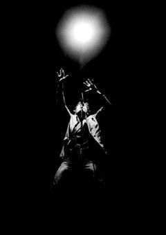 Bruce Springsteen 1980 Black and White Concert Light