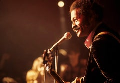 Chuck Berry at the Microphone