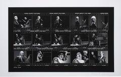 Elton John Film Strip on Hahnemuehle Paper