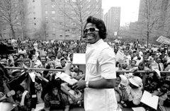 James Brown in Harlem Smiling in Hi Resolution on Hahnemuehle Paper