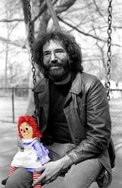 Jerry Garcia - 1975 Colorized Raggedy Ann on Hahnemuehle Paper