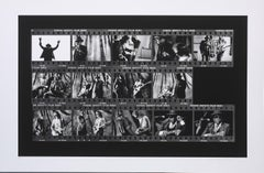 John Lee Hooker Film Roll on Hahnemuehle Paper