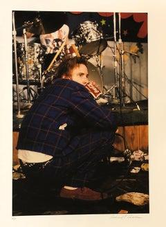 John Lydon - aka Johnny Rotten, Drinking a Coke