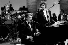 Mick Fleetwood, Keith Richards & Jerry Lee Lewis, 1986