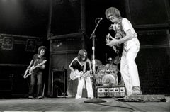 Neil Young Performing with Band