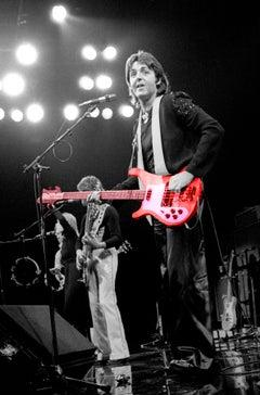 Paul McCartney 1976 Colorized Guitar
