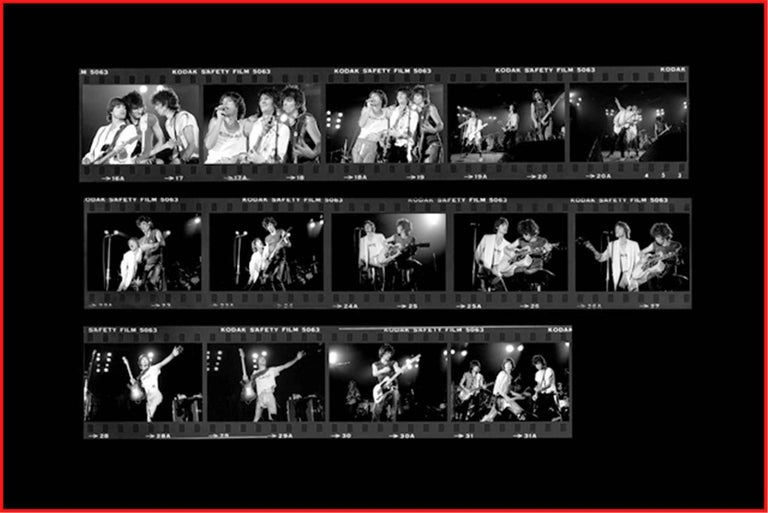 Richard E. Aaron Black and White Photograph - Rolling Stones, 1979
