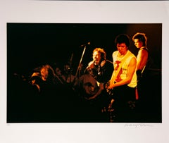 Sid Vicious with Band Photographed in Color on Hahnemuehle paper