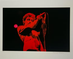 Springsteen in Red on Hahnemuehle Paper