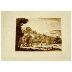 Richard Earlom, Mezzotint circa 1774, Plate #57