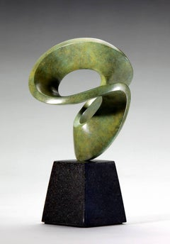 Calypso, Interior Abstract Bronze on Stone Base