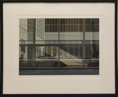 Richard Estes, Urban Landscape No. 3, 1981, Set of Eight Silkscreen, signed
