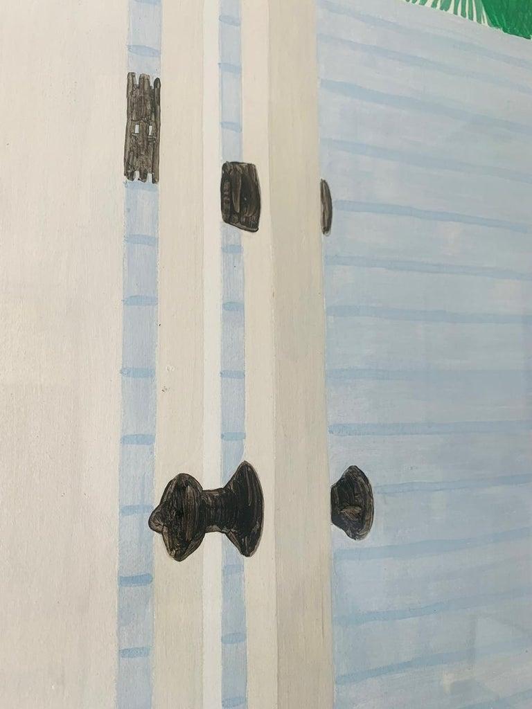 Acrylic Richard Ewen Watercolor on Paper,