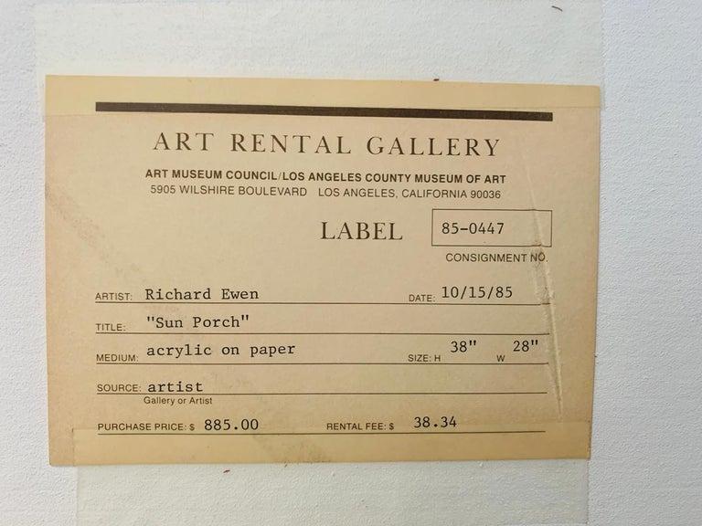 Richard Ewen Watercolor on Paper,