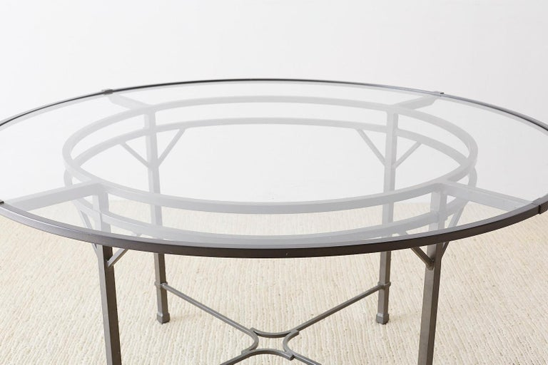 Richard Frinier For Brown Jordan Garden Patio Table For