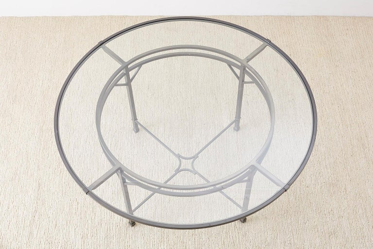 Neoclassical Richard Frinier for Brown Jordan Patio Dining Table For Sale