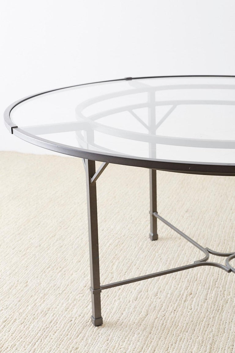 Richard Frinier for Brown Jordan Patio Dining Table In Good Condition For Sale In Rio Vista, CA