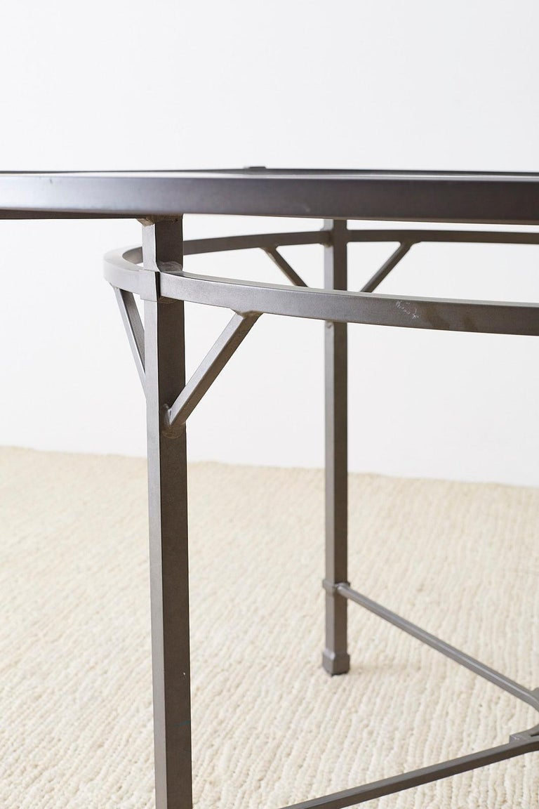 Contemporary Richard Frinier for Brown Jordan Patio Dining Table For Sale