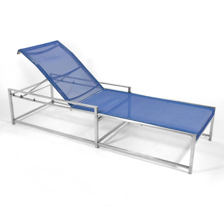 American Richard Frinier Pair of Chaise Lounges by Brown Jordan For Sale