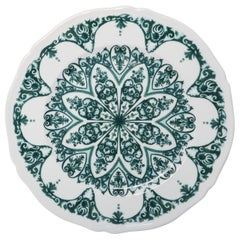 Richard Ginori Babele Verde Green Charger Plate