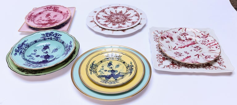 Richard Ginori Contessa Indaco Blue Dinner Plate For Sale 1