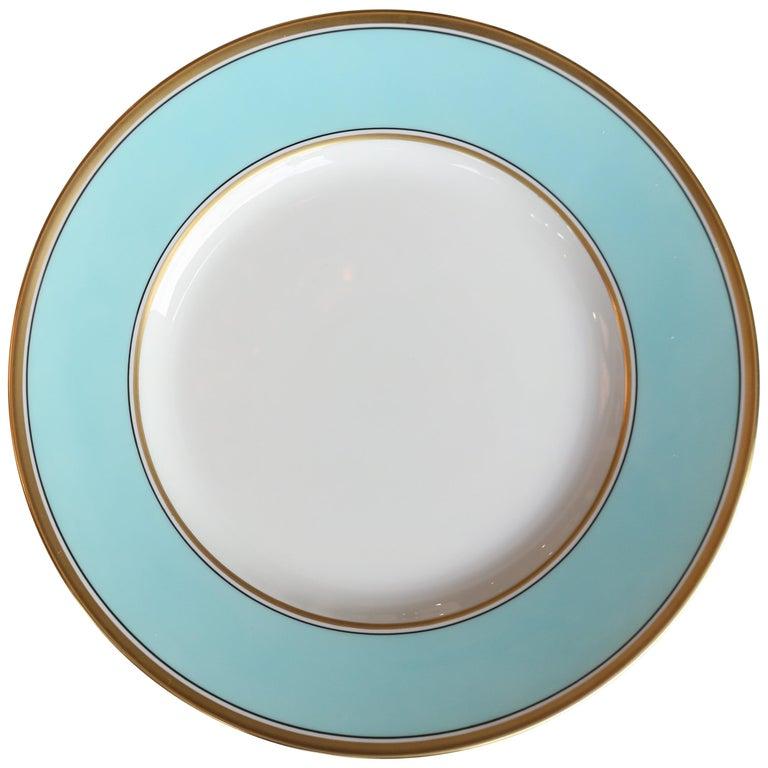 Richard Ginori Contessa Indaco Blue Dinner Plate For Sale