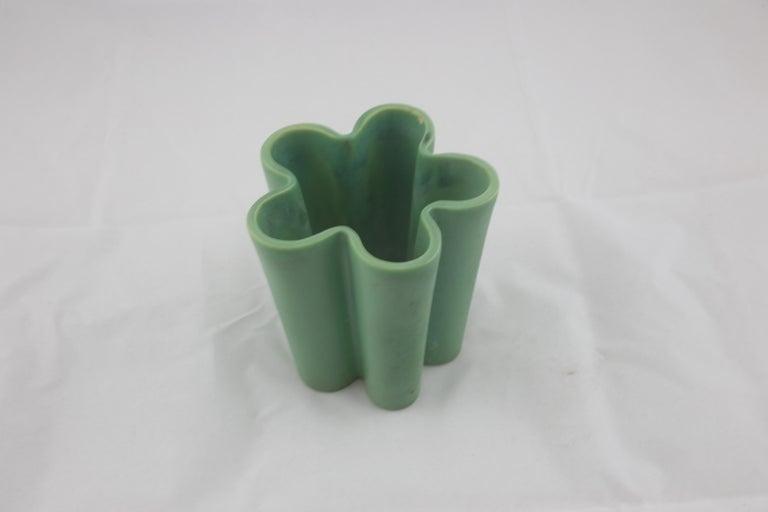 Italian Richard Ginori for San Cristoforo Set of Two Vases by Giovanni Gariboldi, 1940s For Sale