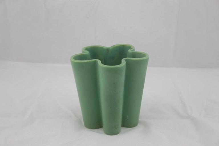 Richard Ginori for San Cristoforo Set of Two Vases by Giovanni Gariboldi, 1940s For Sale 1