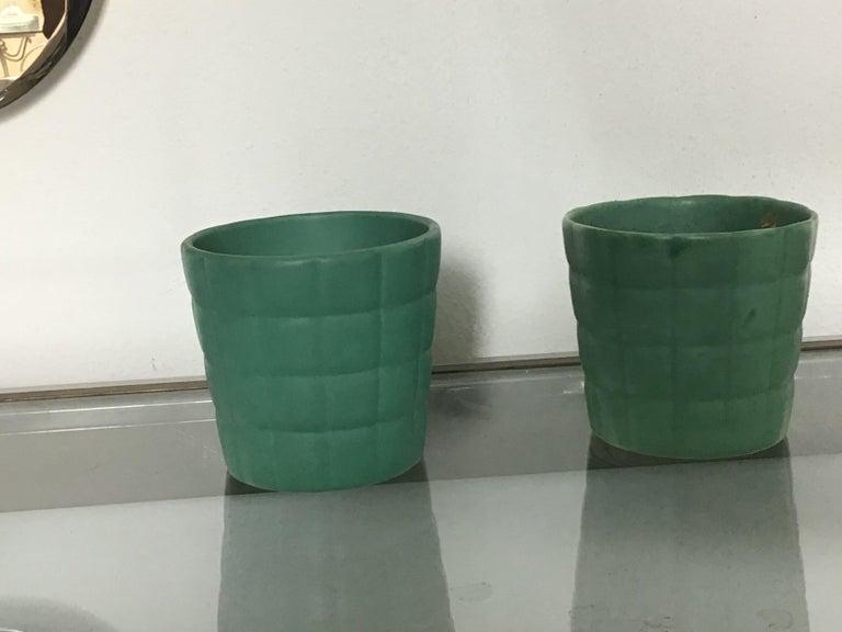 Italian Richard Ginori Giovanni Gariboldi Couple Vase Ceramic, 1950, Italy For Sale