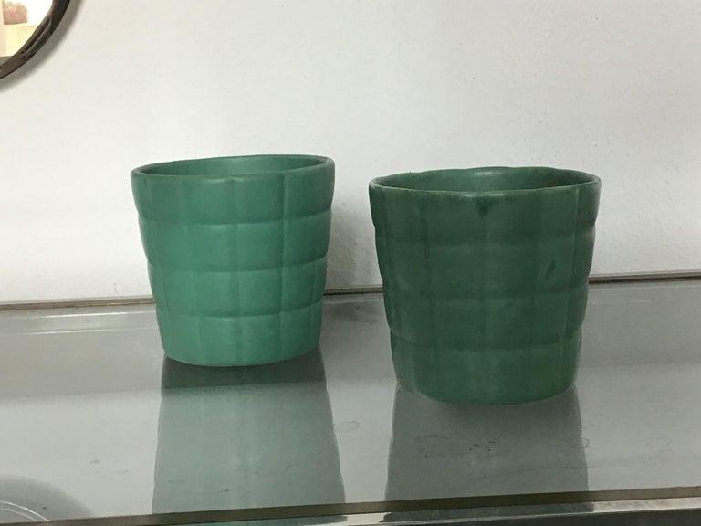 Richard Ginori Giovanni Gariboldi Couple Vase Ceramic, 1950, Italy In Excellent Condition For Sale In Milano, IT