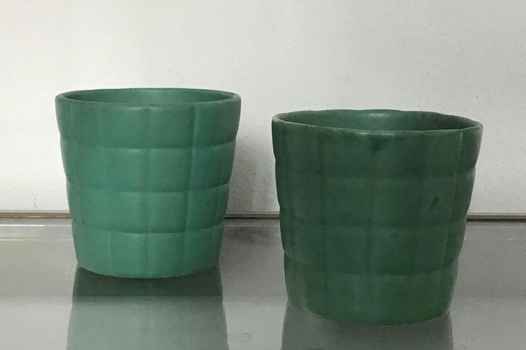 Mid-20th Century Richard Ginori Giovanni Gariboldi Couple Vase Ceramic, 1950, Italy For Sale