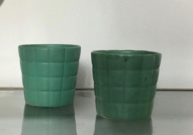Richard Ginori Giovanni Gariboldi Couple Vase Ceramic, 1950, Italy For Sale 1