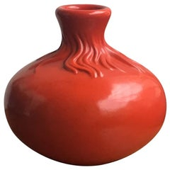 Richard Ginori Giovanni Gariboldi Red Ceramic, 1950, Italy