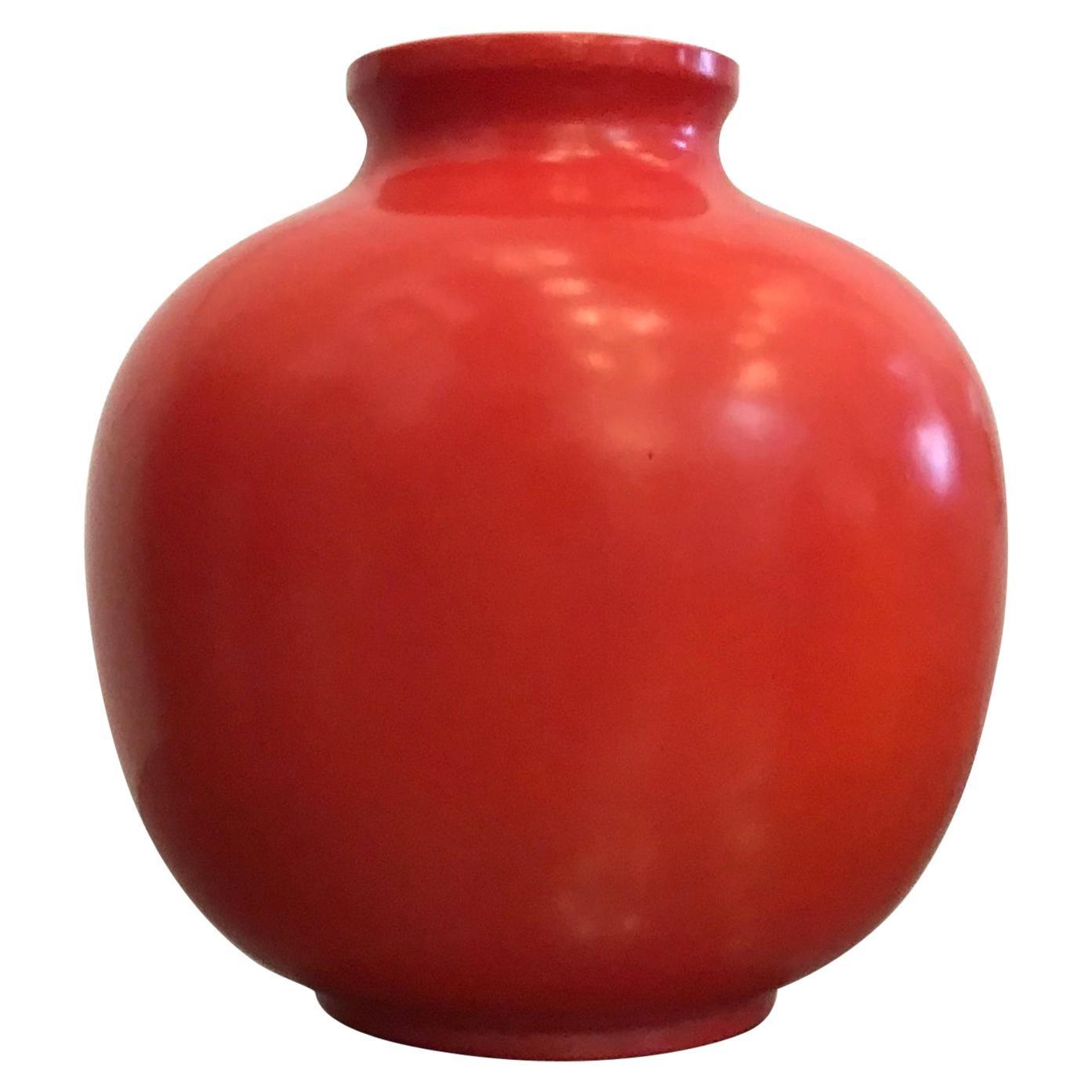 Richard Ginori Giovanni Gariboldi Vase Ceramic, 1950, Italy